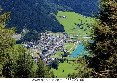 The Beautiful Mountain Landscape Of The Resia Valley Between The Friuli Alps In Italy 007
