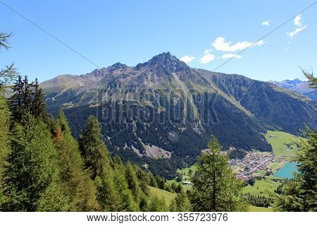 The Beautiful Mountain Landscape Of The Resia Valley Between The Friuli Alps In Italy 009