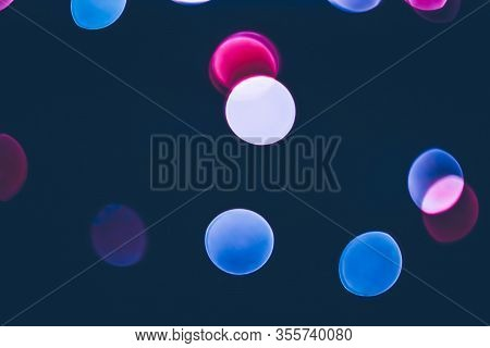 Vintage Bokeh Overlay As Abstract Background And Holiday Backdrop, Cinematic Style