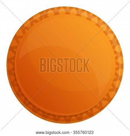 Fruit Jelly Biscuit Icon. Cartoon Of Fruit Jelly Biscuit Vector Icon For Web Design Isolated On Whit