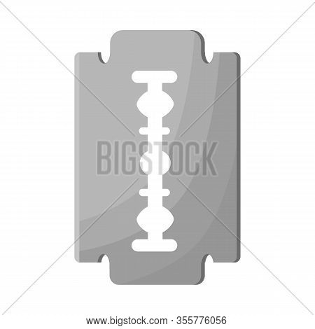 Vector Illustration Of Blade And Razor Icon. Collection Of Blade And Edge Stock Symbol For Web.