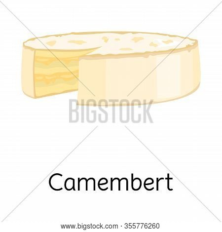 Vector Illustration Of Cheese And Maasdam Logo. Graphic Of Cheese And Piece Stock Symbol For Web.