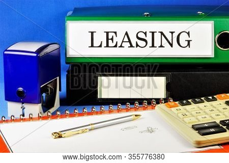 Leasing Is A Form Of Lending. Financial Lease, The Possibility Of Gradual Acquisition Of Ownership A