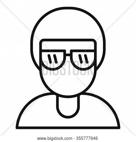 Famous Person Icon. Outline Famous Person Vector Icon For Web Design Isolated On White Background