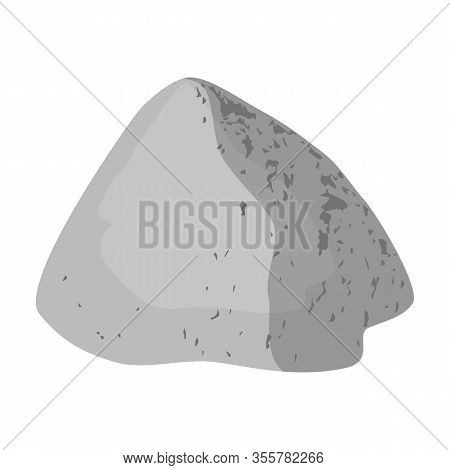 Pile Of Cement Isometric Vector Icon.cartoon Vector Icon Isolated On White Background Pile Of Cement