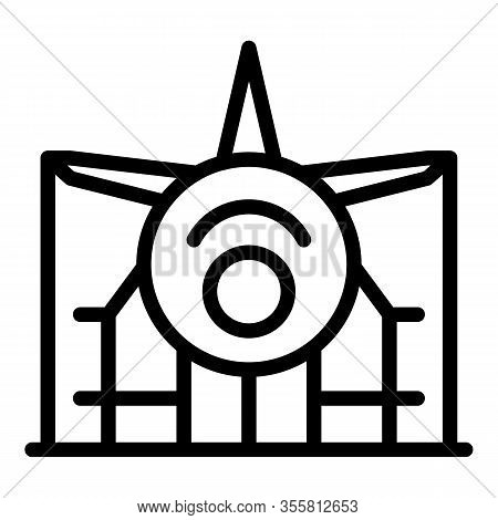 General Airplane Repair Icon. Outline General Airplane Repair Vector Icon For Web Design Isolated On