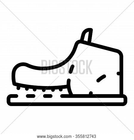 Shoe Need Repair Icon. Outline Shoe Need Repair Vector Icon For Web Design Isolated On White Backgro