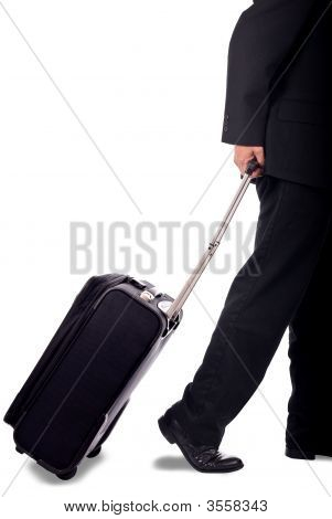 Business Man With Luggage