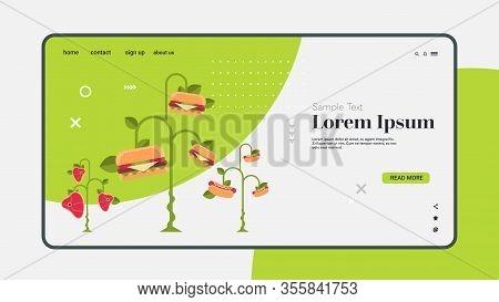 Plant Based Vegetarian Steak Hot Dog Burger Eco Food Tree Beyond Meat Organic Natural Vegan Food Con