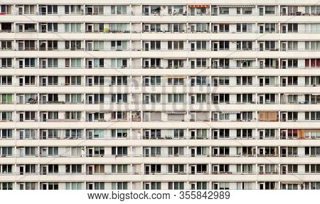 Sideview Of An Simple Appartment Building - Living Like Ants