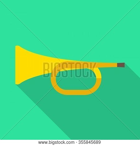 Vector Design Of Trumpet And Music Sign. Web Element Of Trumpet And Orchestra Stock Vector Illustrat