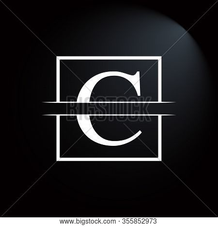 Initial Square Letter C Logo Design Business Vector Template. Creative Letter C Logo Vector