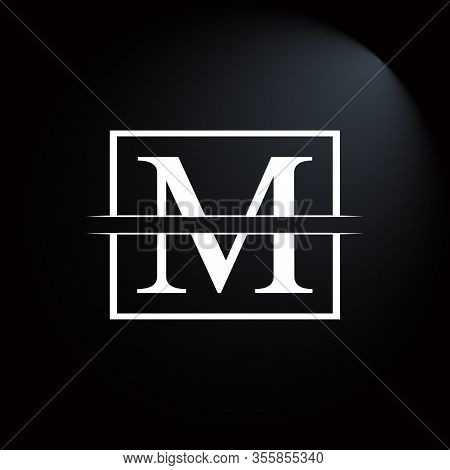 Initial Square Letter M Logo Design Business Vector Template. Creative Letter M Logo Vector