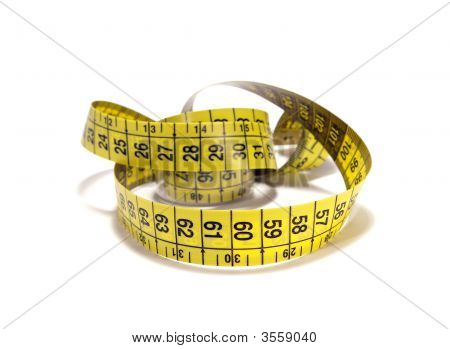 Tape Measure Isolated