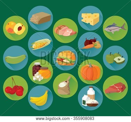 Food. Fruits, Vegetables, Fats, Meat, Cereals, Dairy Products. For Your Convenience, Each Significan