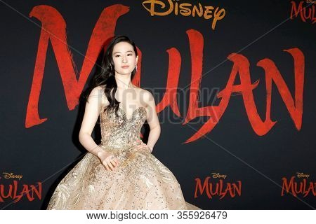 LOS ANGELES - MAR 9:  Yifei Liu at the