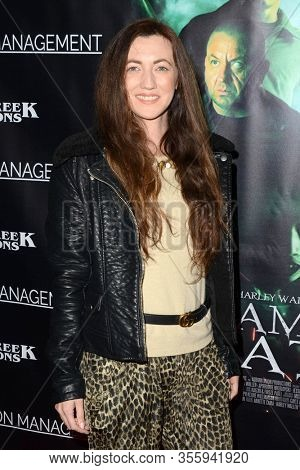 LOS ANGELES - FEB 7:  Amber Martinez at the