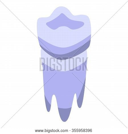 Laser Tooth Restoration Icon. Isometric Of Laser Tooth Restoration Vector Icon For Web Design Isolat