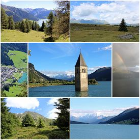 The Lake And The Mountains, The Environment And Nature, The Jewels Of The Resia Valley In The Friuli