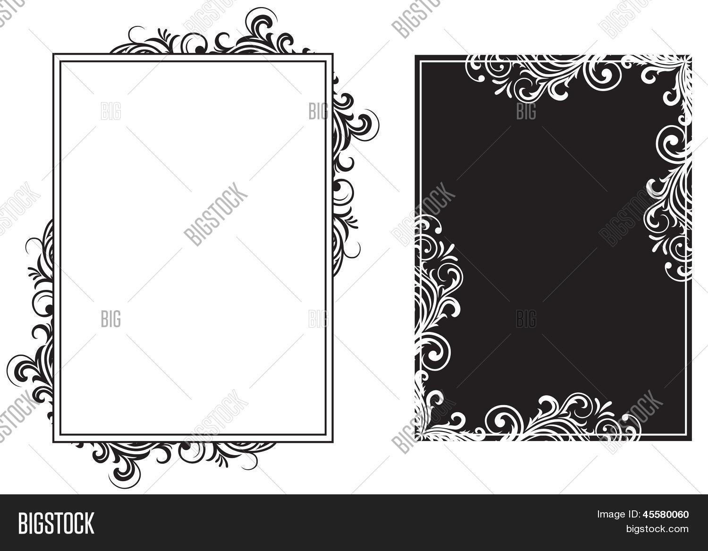 Vector y foto Marcos Blanco Y (prueba gratis) | Bigstock