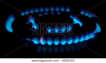 Quemador de gas