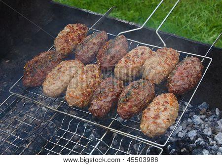 Kebab On The Grill Grid