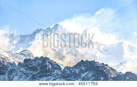 Kangchendzönga ist das dritte höchste Berg