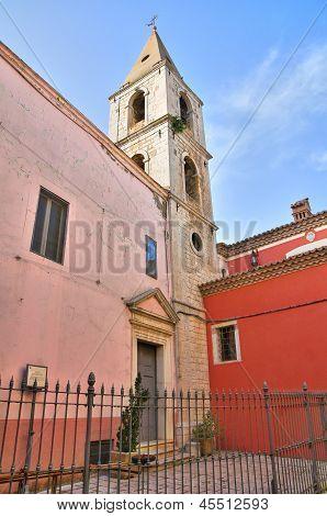 Church of St. Giovanni. Venosa. Basilicata. Italy.