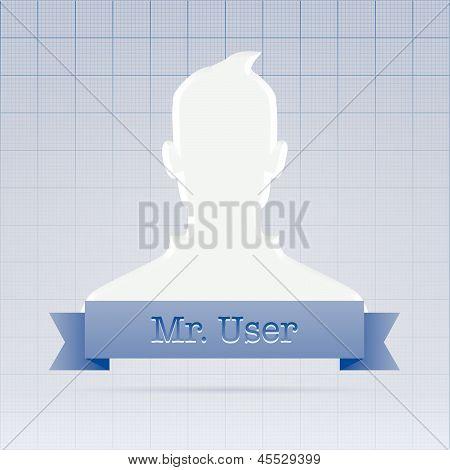 Social Service User Profile Illustration