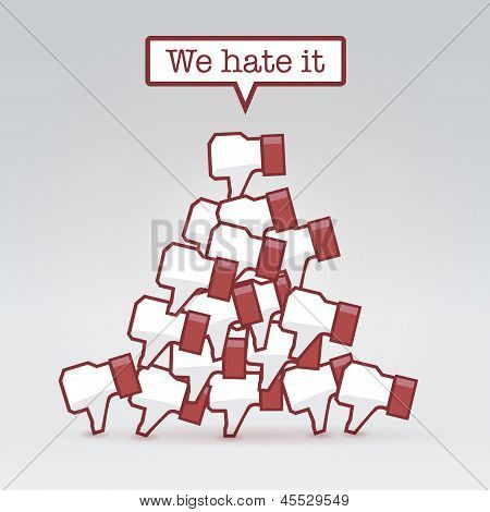 We Hate It