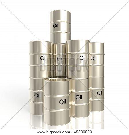 Many Barrels Of Oil