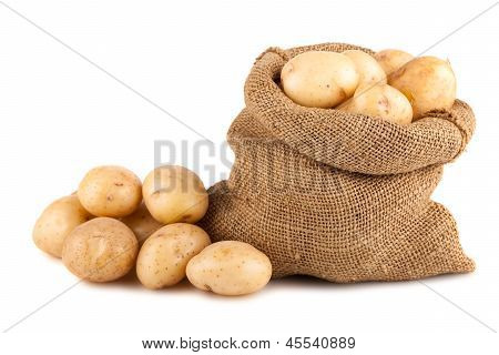 Sack Kartoffeln reif
