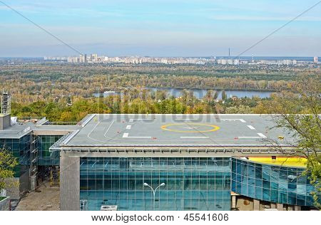 Heliport In The City Kyiv