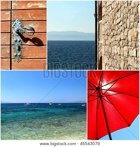 Croatia Dalmatia Mediterranean Sea Photo Set