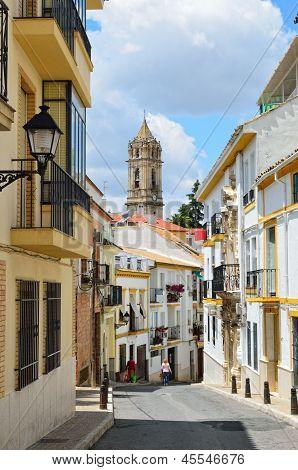 Sunny Street Of Spanish City Cabra