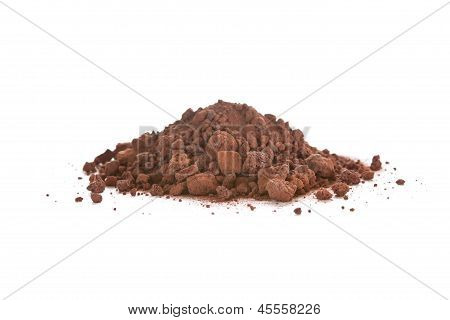 Crushed Scoria, Also Called Lava Rock