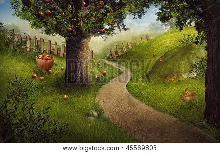Nature Design - Apple Orchard
