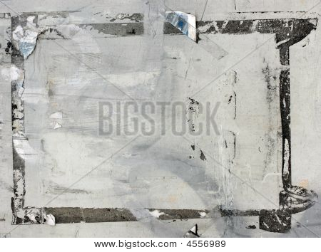Grunge Ripped Poster Background