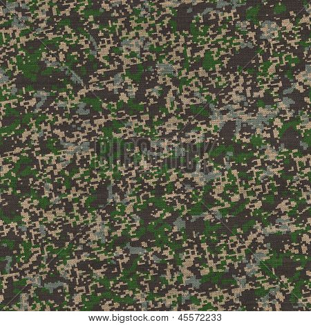 Universal Camouflage Pattern. Seamless Texture.