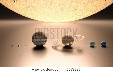 The Solar System Blank