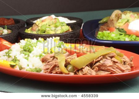 Delicious mexican plate perfect appetizer meal or delicious snack poster
