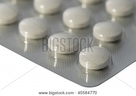 Pills in blister