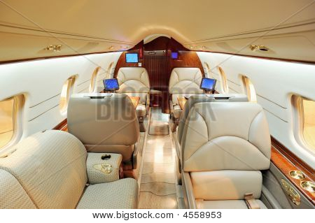 Luxury Jet Airplane