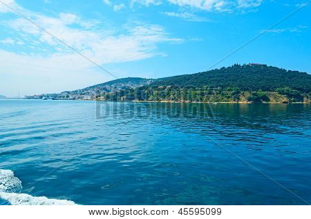Turkey, The Marmara Sea.