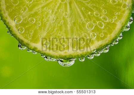 Lime In The Bubbles