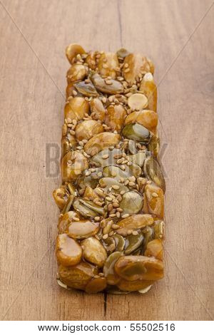 Almond Nougat And Honey Turron Bar