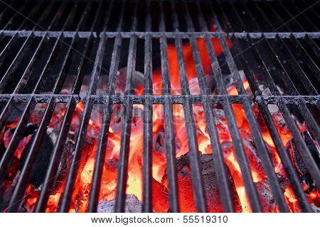 Hot BBQ cast iron Grate