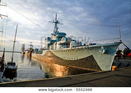 Blyskawica (lightning) - Destroyer Ship