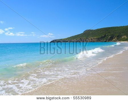 Saline beach at St. Barts, French West Indies
