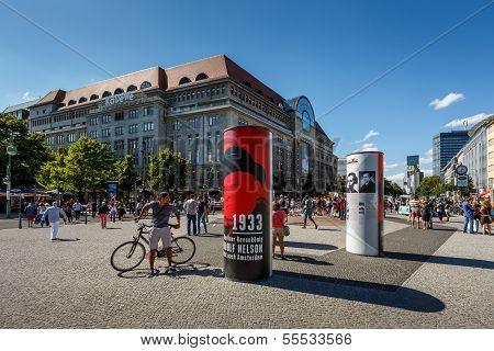 Berlin - August 24: Kadewe Shopping Mall On August 24, 2013 In Berlin. Kadewe Is The Second Largest